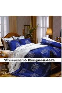 ชุดเครื่องนอน ผ้าห่มนวม ชุดผ้าปูที่นอนเจสสิก้า C945 (คอตตอน 100%)