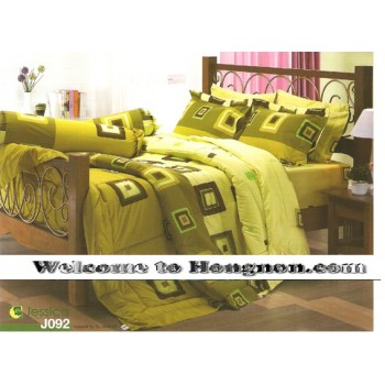 ชุดเครื่องนอน ผ้าห่มนวม ชุดผ้าปูที่นอนเจสสิก้า J092