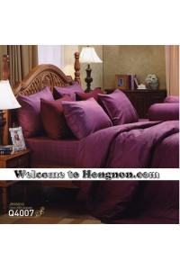 ชุดเครื่องนอน ผ้าห่มนวม ชุดผ้าปูที่นอนเจสสิก้า jacquard แจ็คการ์ด Q4007 (คอตตอน 100%)