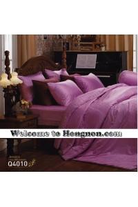 ชุดเครื่องนอน ผ้าห่มนวม ชุดผ้าปูที่นอนเจสสิก้า jacquard แจ็คการ์ด Q4010 (คอตตอน 100%)