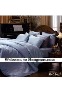 ชุดเครื่องนอน ผ้าห่มนวม ชุดผ้าปูที่นอนเจสสิก้า jacquard แจ็คการ์ด Q4014 (คอตตอน 100%)