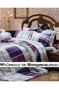 ชุดเครื่องนอน ผ้าห่มนวม ชุดผ้าปูที่นอนเจสสิก้า C960 (คอตตอน 100%)
