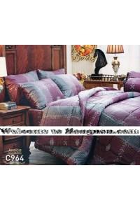 ชุดเครื่องนอน ผ้าห่มนวม ชุดผ้าปูที่นอนเจสสิก้า C964 (คอตตอน 100%)