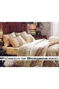 ชุดเครื่องนอน ผ้าห่มนวม ชุดผ้าปูที่นอนเจสสิก้า C965 (คอตตอน 100%)