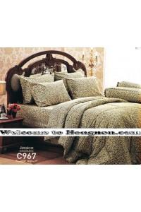 ชุดเครื่องนอน ผ้าห่มนวม ชุดผ้าปูที่นอนเจสสิก้า C967 (คอตตอน 100%)