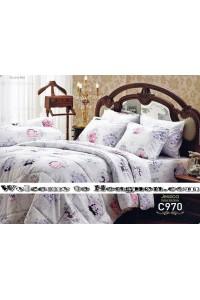 ชุดเครื่องนอน ผ้าห่มนวม ชุดผ้าปูที่นอนเจสสิก้า C970 (คอตตอน 100%)