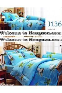 ชุดเครื่องนอน ผ้าห่มนวม ชุดผ้าปูที่นอนเจสสิก้า J136