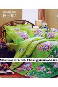 ชุดเครื่องนอน ผ้าห่มนวม ชุดผ้าปูที่นอนเจสสิก้า ลายการ์ตูน PORORO โพโรโระ PO.012