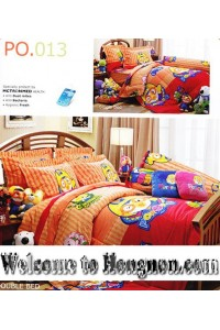 ชุดเครื่องนอน ผ้าห่มนวม ชุดผ้าปูที่นอนเจสสิก้า ลายการ์ตูน PORORO โพโรโระ PO.013