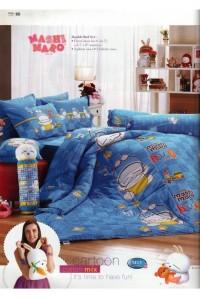 ชุดเครื่องนอน ผ้าห่มนวม ชุดผ้าปูที่นอนทิวลิป ลายการ์ตูน M13 (Mashimaro)