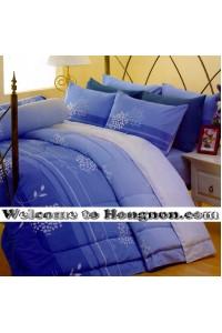 ชุดเครื่องนอน ผ้าห่มนวม ชุดผ้าปูที่นอนซาติน Premier P089