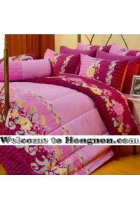 ชุดเครื่องนอน ผ้าห่มนวม ชุดผ้าปูที่นอนซาติน Premier P097