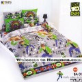 ชุดเครื่องนอน ผ้าห่มนวม ชุดผ้าปูที่นอนโตโต้ ลายลายการ์ตูนลิขสิทธิ์ เบ็นเท็น BEN10 BA01