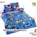 ชุดเครื่องนอน ผ้าห่มนวม ชุดผ้าปูที่นอนโตโต้ ลายการ์ตูนลิขสิทธิ์ เบ็นเท็น BEN10 BT01