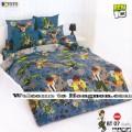 ชุดเครื่องนอน ผ้าห่มนวม ชุดผ้าปูที่นอนโตโต้ ลายการ์ตูนลิขสิทธิ์ เบ็นเท็น BEN10 BT07