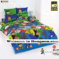 ชุดเครื่องนอน ผ้าห่มนวม ชุดผ้าปูที่นอนโตโต้ ลายลายการ์ตูนลิขสิทธิ์ เบ็นเท็น BEN10 BU01