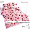 ชุดเครื่องนอน ผ้าห่มนวม ชุดผ้าปูที่นอนโตโต้ ลายการ์ตูนลิขสิทธิ์  คิตตี้ CK01
