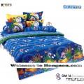 ชุดเครื่องนอน ผ้าห่มนวม ชุดผ้าปูที่นอนโตโต้ ลายการ์ตูนลิขสิทธิ์ โดราเอมอน DM016