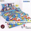 ชุดเครื่องนอน ผ้าห่มนวม ชุดผ้าปูที่นอนโตโต้ ลายการ์ตูนลิขสิทธิ์ โดราเอมอน DM37