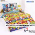 ชุดเครื่องนอน ผ้าห่มนวม ชุดผ้าปูที่นอนโตโต้ ลายการ์ตูนลิขสิทธิ์ โดราเอมอน DM38