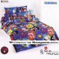 ชุดเครื่องนอน ผ้าห่มนวม ชุดผ้าปูที่นอนโตโต้ ลายการ์ตูนลิขสิทธิ์ โดราเอมอน DM40