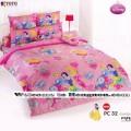 ชุดเครื่องนอน ผ้าห่มนวม ชุดผ้าปูที่นอนโตโต้ ลายการ์ตูนลิขสิทธิ์  เจ้าหญิง PC32