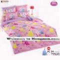 ชุดเครื่องนอน ผ้าห่มนวม ชุดผ้าปูที่นอนโตโต้ ลายการ์ตูนลิขสิทธิ์  เจ้าหญิง PC34