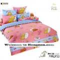 ชุดเครื่องนอน ผ้าห่มนวม ชุดผ้าปูที่นอนโตโต้ ลายการ์ตูนลิขสิทธิ์ หมีพูห์ PH24