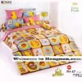 ชุดเครื่องนอน ผ้าห่มนวม ชุดผ้าปูที่นอนโตโต้ ลายการ์ตูนลิขสิทธิ์ หมีพูห์ PH47