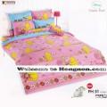 ชุดเครื่องนอน ผ้าห่มนวม ชุดผ้าปูที่นอนโตโต้ ลายการ์ตูนลิขสิทธิ์ หมีพูห์ PH51