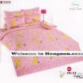 ชุดเครื่องนอน ผ้าห่มนวม ชุดผ้าปูที่นอนโตโต้ ลายการ์ตูนลิขสิทธิ์ หมีพูห์ PH52
