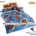 ชุดเครื่องนอน ผ้าห่มนวม ชุดผ้าปูที่นอนโตโต้ ลายการ์ตูนลิขสิทธิ์  สไปเดอร์แมน SD12