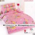 ชุดเครื่องนอน ผ้าห่มนวม ชุดผ้าปูที่นอนโตโต้ ลายการ์ตูนลิขสิทธิ์ ลิตเติ้ล ทวิน สตาร์ Little twinstar TS05